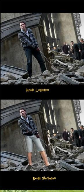 Nice Legs, Neville!
