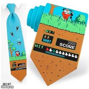 NES Tie WIN