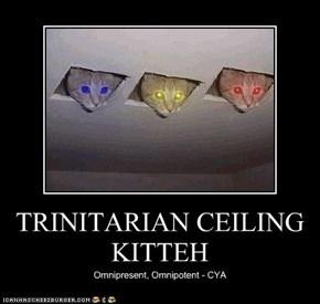 TRINITARIAN CEILING KITTEH