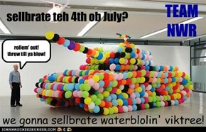 sellbrate teh 4th ob July?