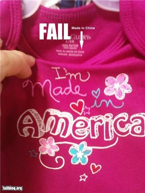 Made in America Fail!