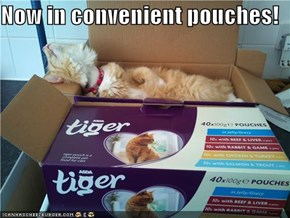 Now in convenient pouches!