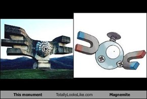 This Monument Totally Looks Like Magnemite