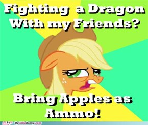 Like Bringing Apples to a Dragon Fight