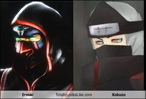 Ermac Totally Looks Like Kakuzu
