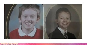 Alex Day, Child Edition-- looks like he found that TARDIS after all.