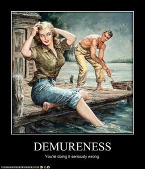 DEMURENESS