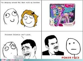 Princess Celestia Isn't Pink...