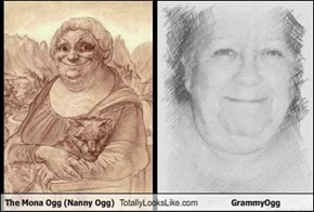 The Mona Ogg (Nanny Ogg) Totally Looks Like GrammyOgg