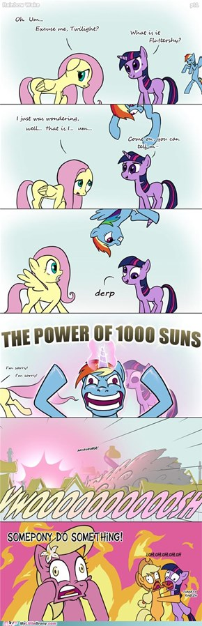THE POWER OF 1000 SUNS!!!