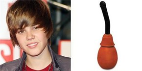 Justin Bieber totally looks like a Douche