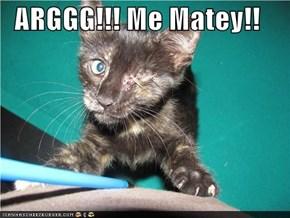 ARGGG!!! Me Matey!!