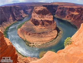 Mother Nature FTW: Horseshoe Bend