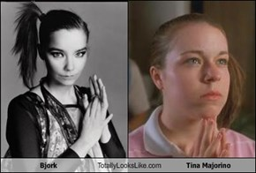 Bjork Totally Looks Like Tina Majorino