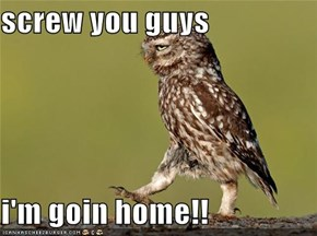 screw you guys  i'm goin home!!