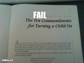 Chapter Title FAIL