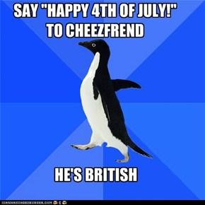Socially Awkward Penguin: Post Holiday Joke a Day Late