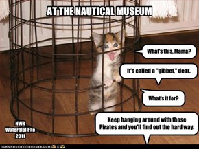 At the Nautical Museum
