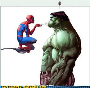 IN YOUR FACE, HULK!