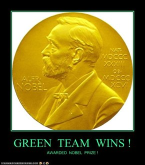 GREEN  TEAM  WINS !