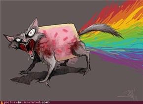 Looks Painful, Nyan Cat...