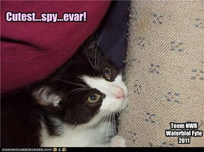 Cutest...spy...evar!