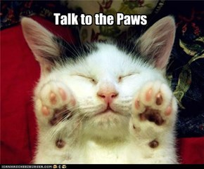 Talk to the Paws