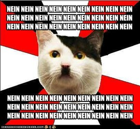 Nazi Cat: It's Nein, not Nyan