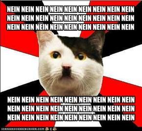 Nazi Cat: It's Nein, not Nyan