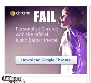Chrome FAIL