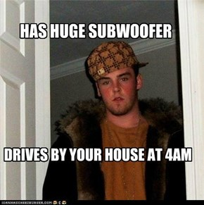 Scumbag Steve Only Plays Dubstep