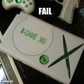 CLASSIC: Knockoff Game Console FAIL
