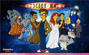Simpson-nized Doctor Who