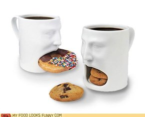 Cookie mugs.