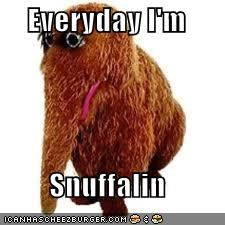 Everyday I'm  Snuffalin
