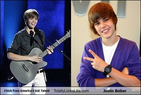 Chick from America's Got Talent Totally Looks Like Justin Beiber