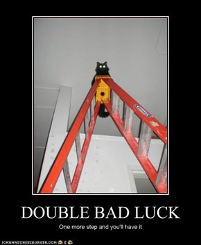 DOUBLE BAD LUCK