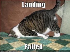 Landing  Failed