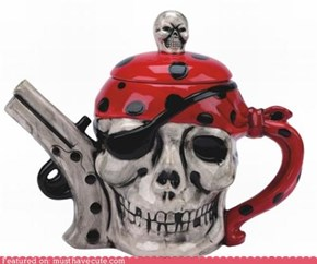 Pirate Tea Kettle