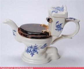 Toliet teapot