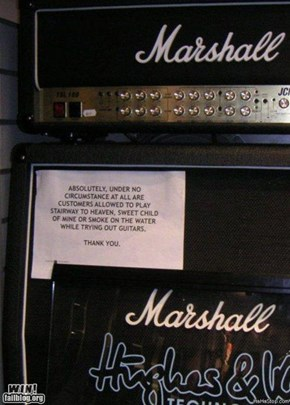 Music Store Sign WIN