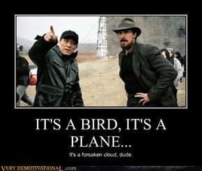IT'S A BIRD, IT'S A PLANE...