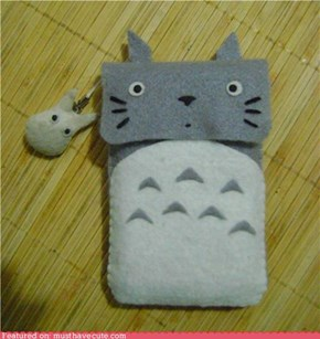 Totoro kawaii cellphone case