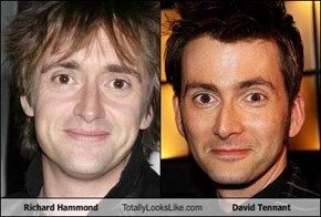 Richard Hammond Totally Looks Like David Tennant