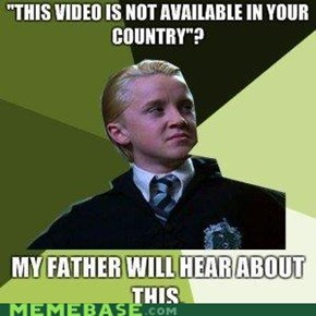 Malfoy Is a Fan of American Soaps