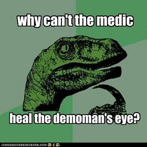 why can't the medic