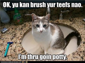 OK, yu kan brush