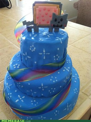 The Internet IRL: Nyan Cake