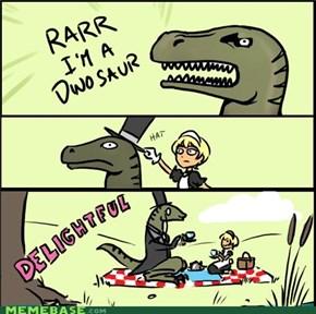 Sir Tyrannasaurus Rexington