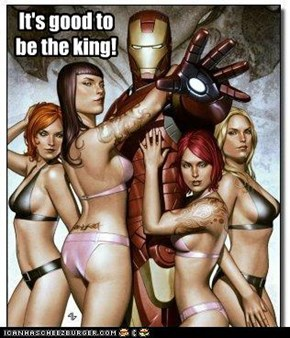 Being Tony Stark obviously has its advantages